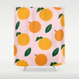 Oranges or Peaches? Shower Curtain