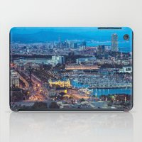 barcelona iPad Cases featuring Barcelona by AnnaGo