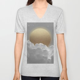 Nothing Gold Can Stay Unisex V-Neck