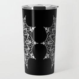 Cosmos Doily Travel Mug