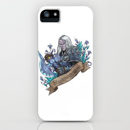 Prince of Darkness iPhone Case