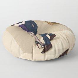 lippi lip liaison Floor Pillow