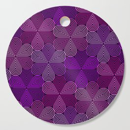 Op Art 177 Cutting Board