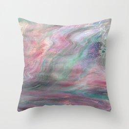 Opal deck Throw Pillow