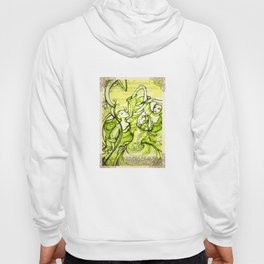 Merry Wives of Windsor - Shakespeare Folio Illustrations Hoody