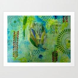 wasabi Art Print