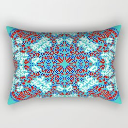 "CA Fantasy ""For Tiffany color"" series #9 Rectangular Pillow"