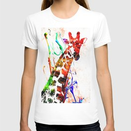 Giraffe Grunge T-shirt