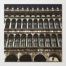 Facade on Piazza San Marco Canvas Print