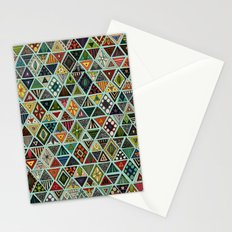 sun bear geo mint Stationery Cards