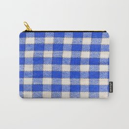 Gingham / vichy Pattern -strips,fashion,squares,french,vichy, gingham,bistrot,textiles,indie Carry-All Pouch