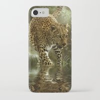 jaguar iPhone & iPod Cases featuring Jaguar by tarrby/Brian Tarr