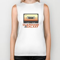 guardians of the galaxy Biker Tanks featuring Guardians Of The Galaxy by htsvll
