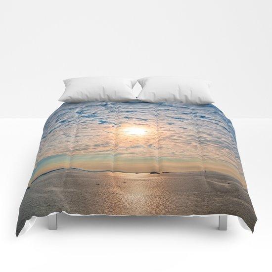 Saint-Malo Sunset Comforters