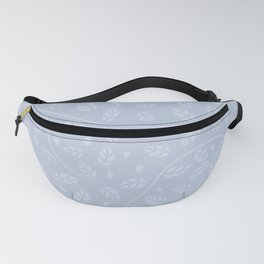 Lavender Vine and Leaf Organic Pattern Fanny Pack