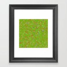 Сarcassonne swirl Framed Art Print