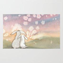 Sunset Fairies Rug