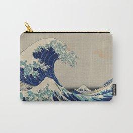 Kanazawa Oki Nami Ura Carry-All Pouch