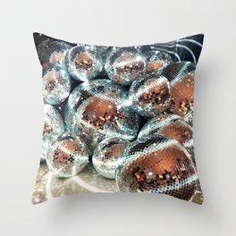 Balls of Disco Throw Pillow