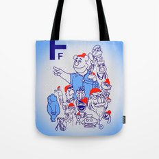 Team Fozzou Tote Bag