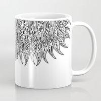 fringe Mugs featuring Pysch Fringe by jordantheplatt