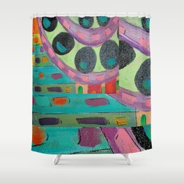 Gone Crazy Shower Curtain