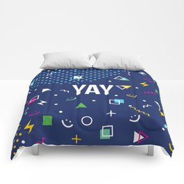YAY Crazy + Colourful Comforters