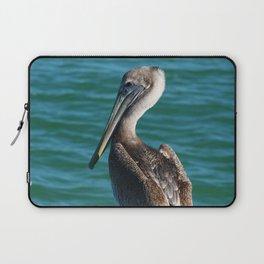 Pelican On A Pole Laptop Sleeve