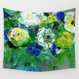 Abstract Floral - Botanical Wall Tapestry