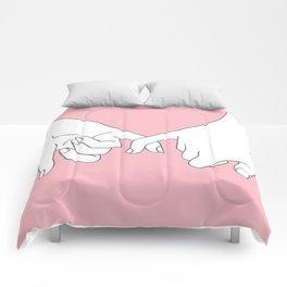 Pinky Promise 2 Comforters