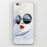 horses iPhone & iPod Skins featuring Wild Horses by anna hammer