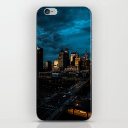 The Busy City iPhone Skin