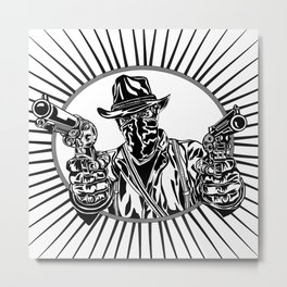 Arthur: Outlaw in Need of a Plan Metal Print