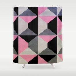 colour + pattern 9 Shower Curtain