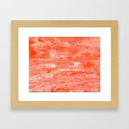 Orange Creamsicle Framed Art Print
