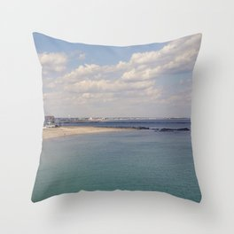 Point's End Throw Pillow