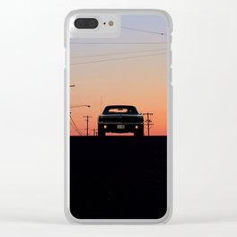 """1968 Dodge Charger R/T - Better cue up """"Shifting Gears"""" Clear iPhone Case"""