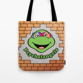 Psychelangelo - The Lost Ninja Turtle Tote Bag