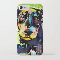dachshund iPhone & iPod Cases featuring Dachshund by Gary Grayson