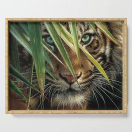 Tiger Eyes Serving Tray