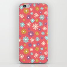 Butterfly Garden - Daisies iPhone & iPod Skin