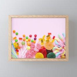 Candy Framed Mini Art Print