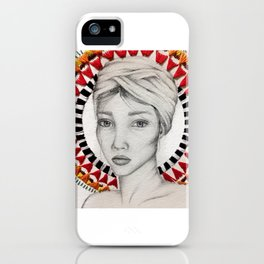 ethnic beauty iPhone Case