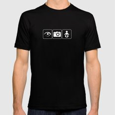 I Photograph Babies Black MEDIUM Mens Fitted Tee