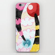 Two Tails iPhone & iPod Skin