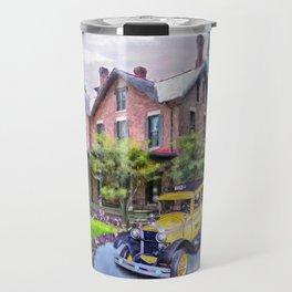 Rutherford B. Hayes Taxi Travel Mug