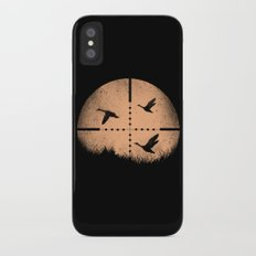 Duck Hunting iPhone X Slim Case