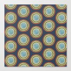 Circle Pattern Canvas Print