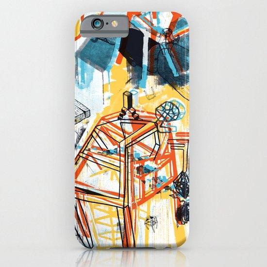 yellowredblueandblack iPhone & iPod Case