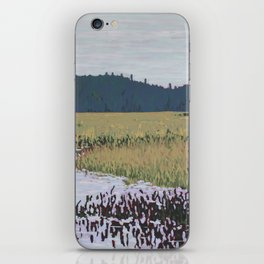 The Grassy Bay, Algonquin Park iPhone Skin